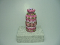 Beaded Bottle # 14