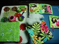 Quilted scrapbook cover project ~ Feb.3 - 2012