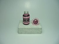 Beaded Bottle # 12
