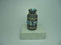Beaded  Bottle # 13
