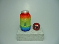 Beaded Bottle # 15