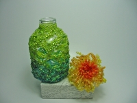 Beaded Bottle # 19